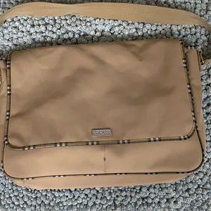 Burberry Fragrance large messenger bag
